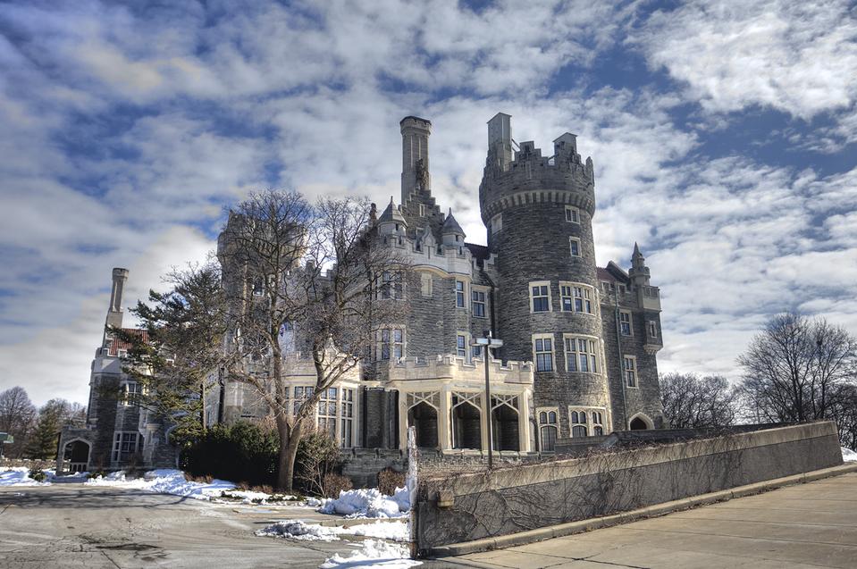 Casa Loma Medieval castle