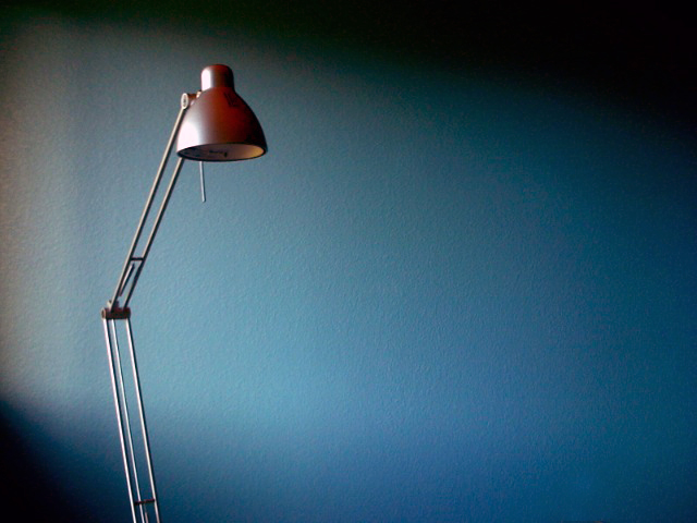 Desk lamp by John Pastor
