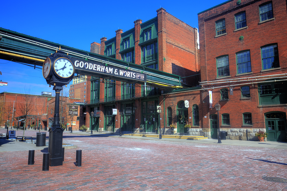 Gooderham and Worts Distillery