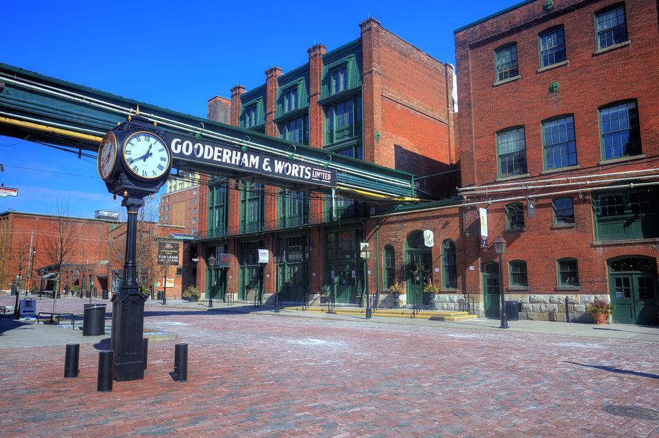 Gooderham and Worts Distillery