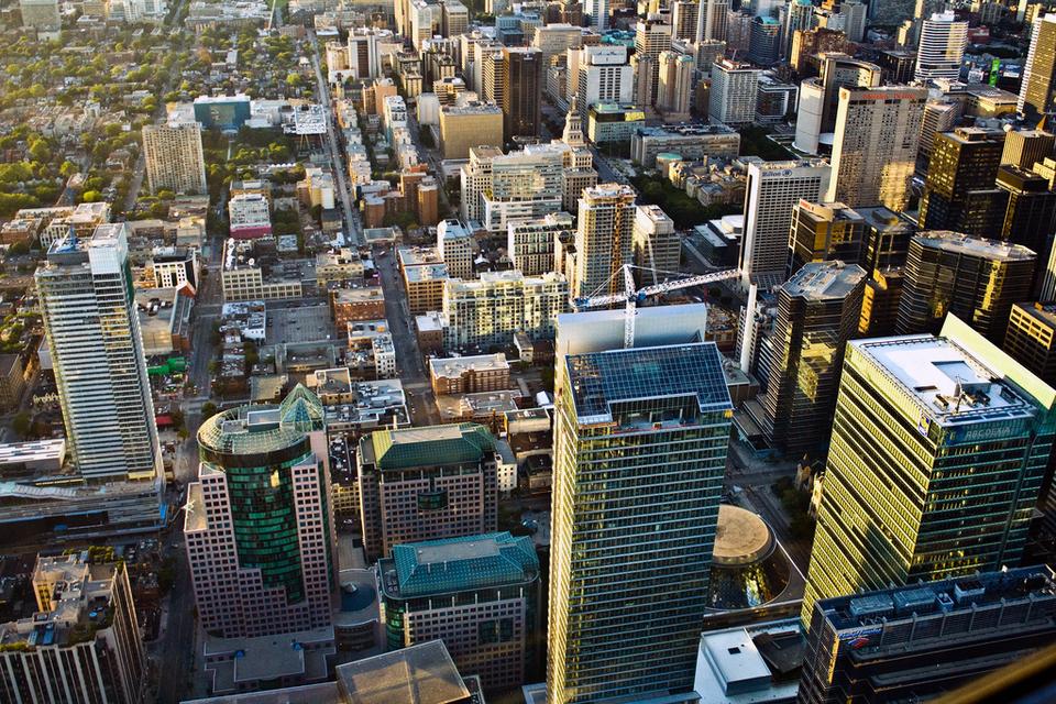 Toronto City by   Dhinakaran Gajavarathan