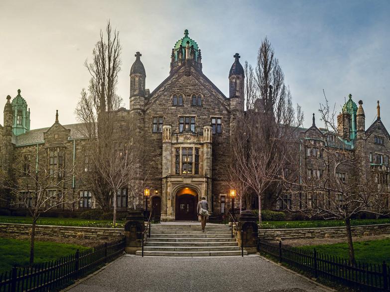 Trinity College Toronto stairs