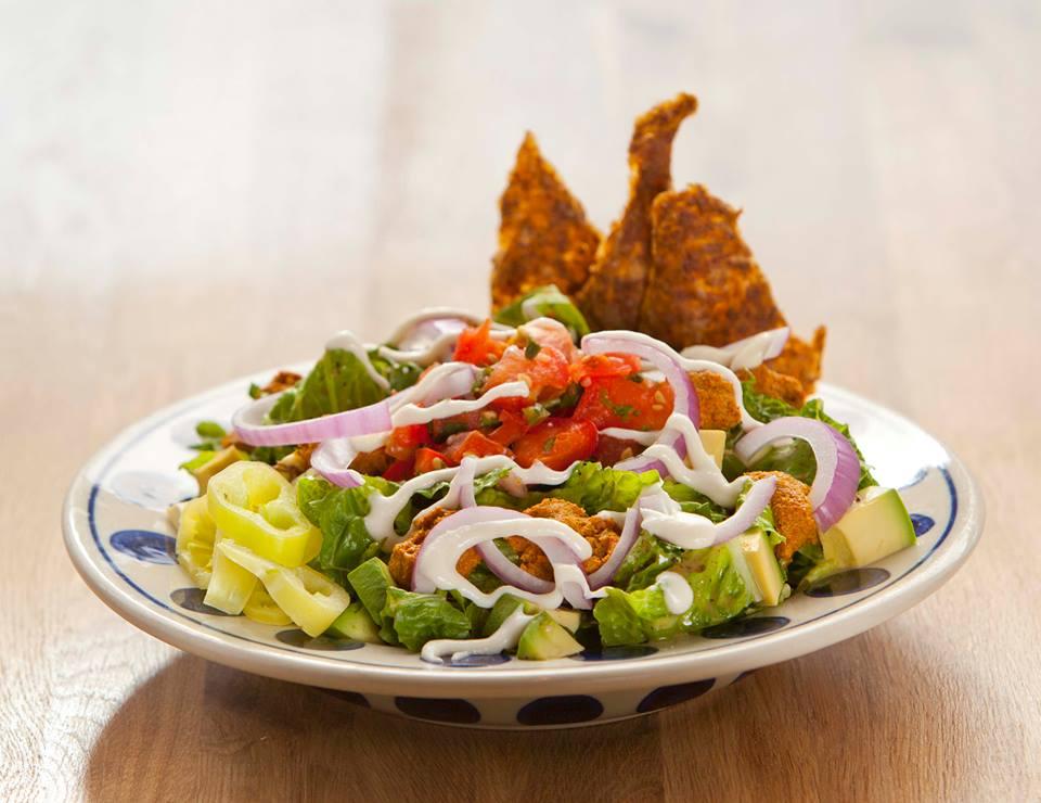 Rawlicious Taco Salad