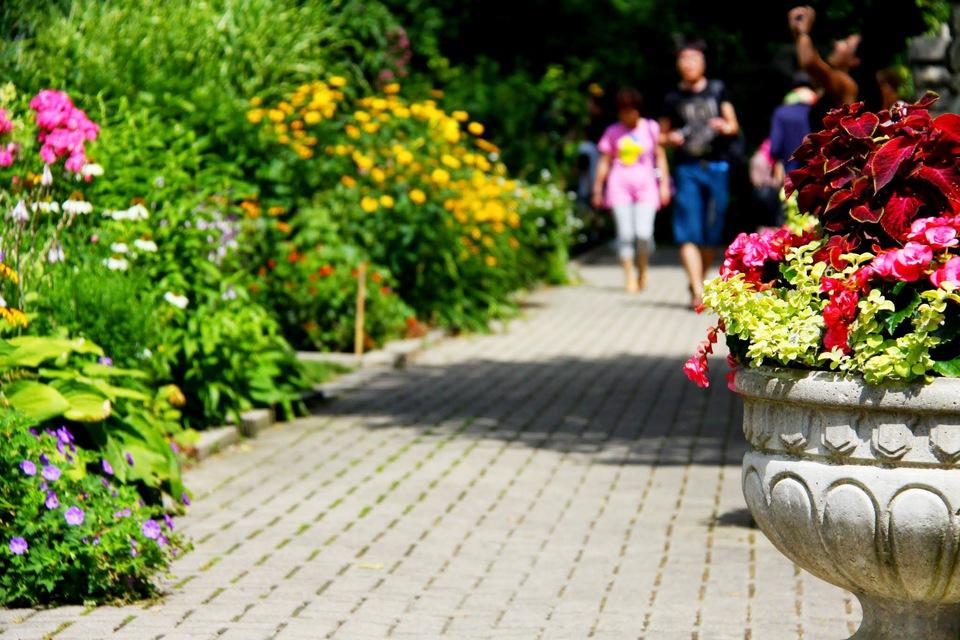 Casa Loma Gardens by Viera Prievoznikova