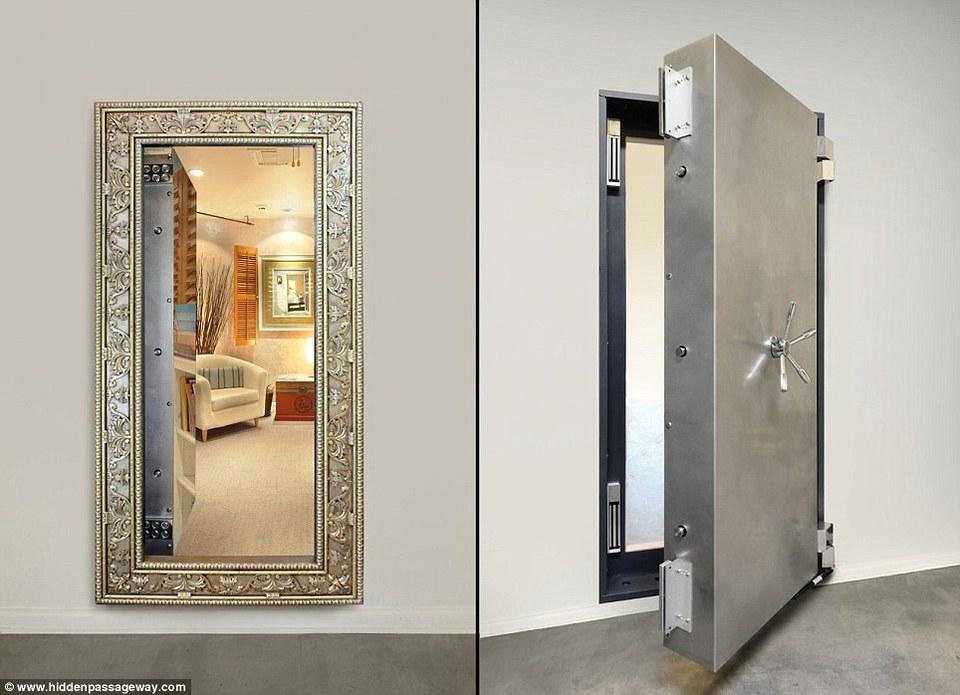 Mirror Etrance Safe Room