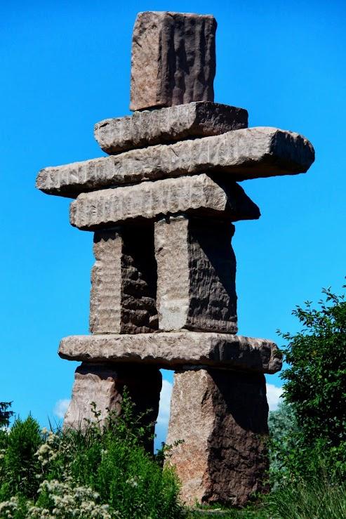 Inukshuk Stone Totem