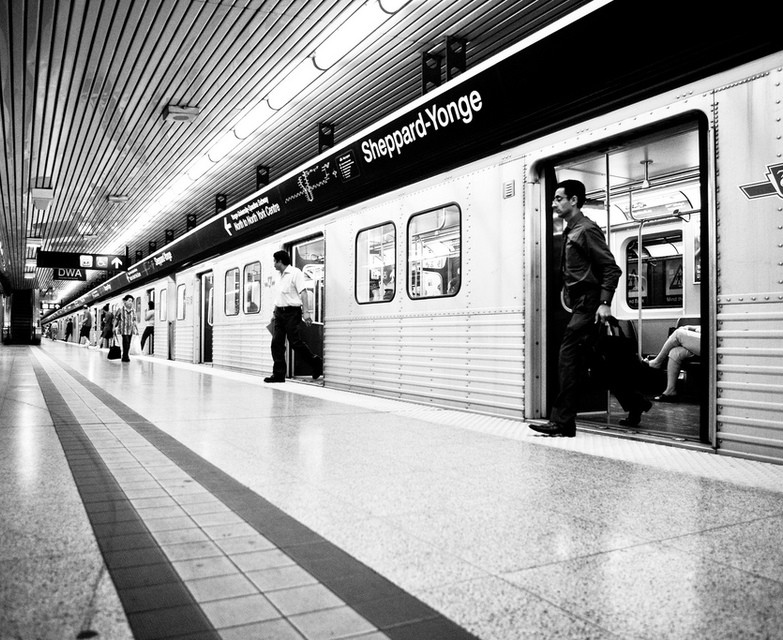 Photo of The Week – TTC Stop