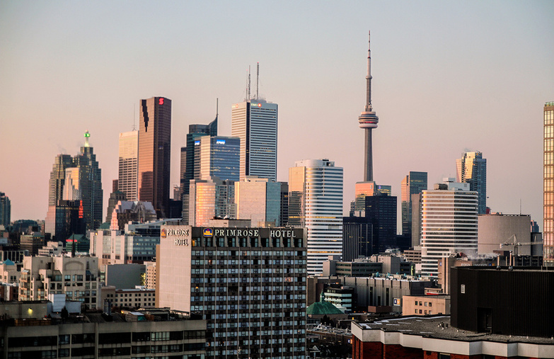 City Of Toronto By Joseph Morris