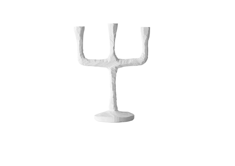 Raw Candelabra White By Muuto