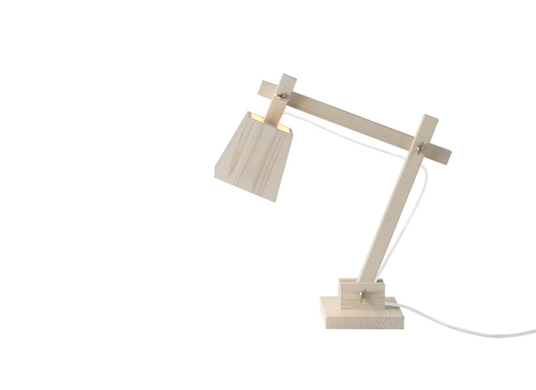 Wood Lamp White By Muuto