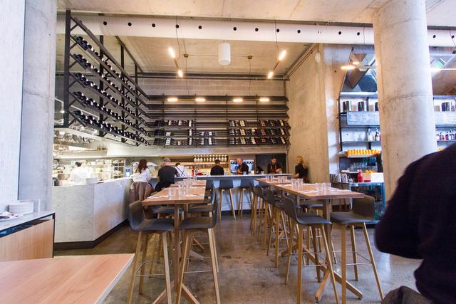 Kitchen Bar In Buca Bar By Renee Suen