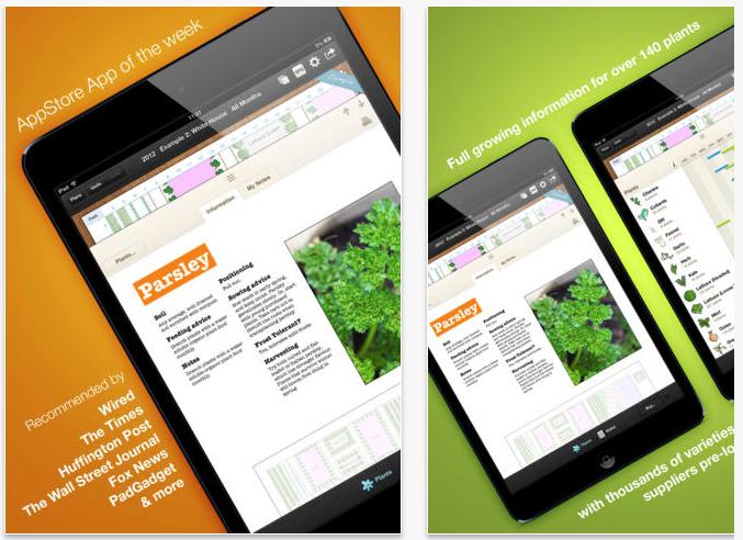 Top 5 Garden and Plants Apps | Jamie Sarner