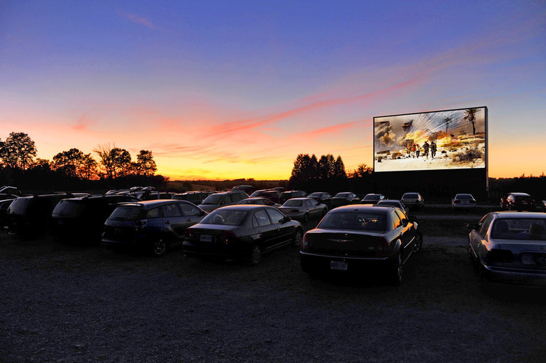 Mustang Drive In
