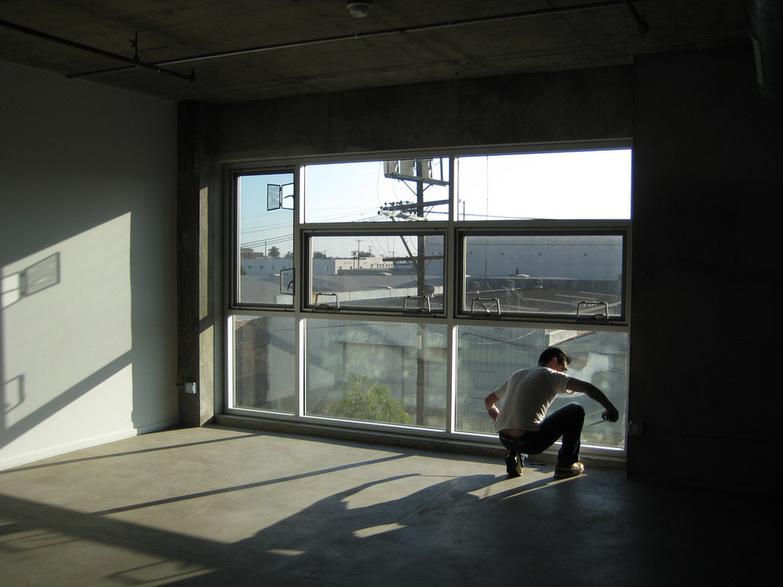 Barker Block Loft window by Ricardo Diaz