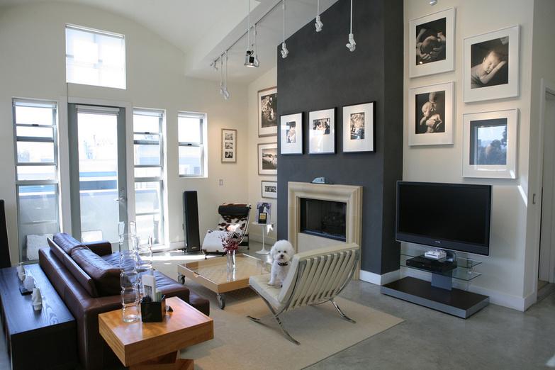 The Chin Loft living room
