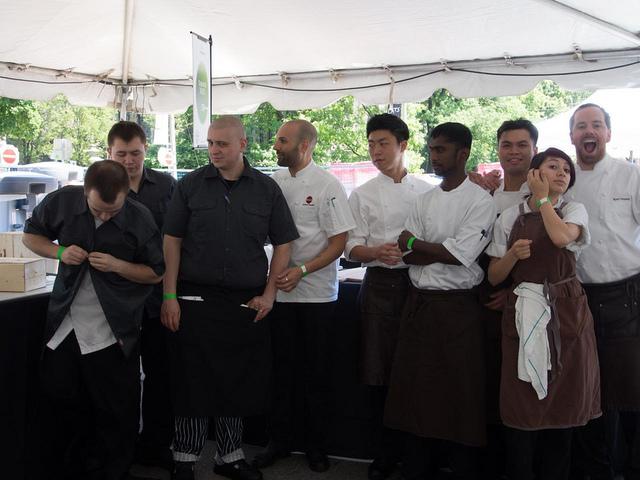 The Buca Crew at Toronto Taste 2013 by LexnGer