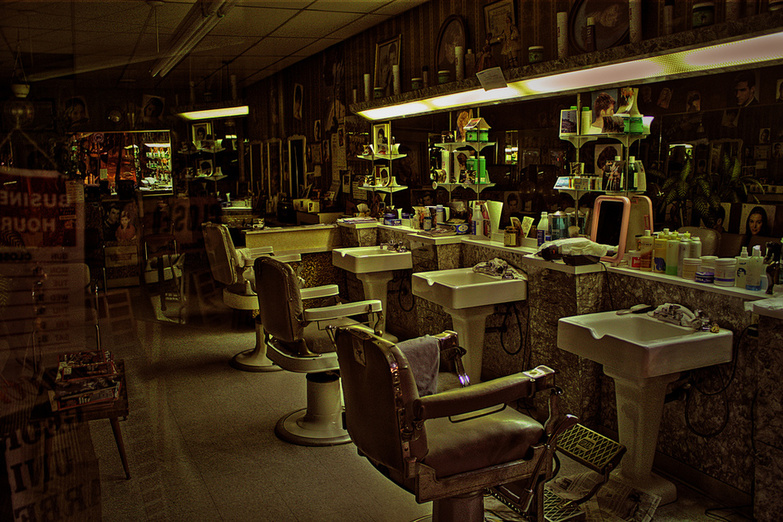 Closing time 2 Barbershop by Paul Gorbould