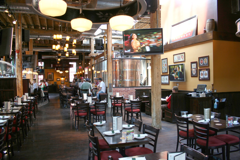 Mill Street brewpub interior