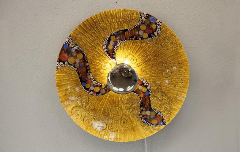 Casa di Luce a la Klimt
