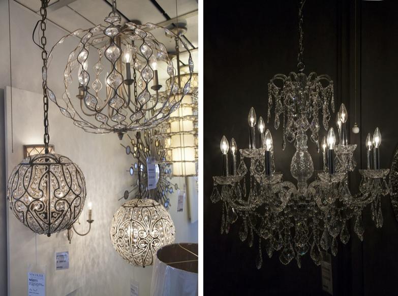 Sescolite chandeliers