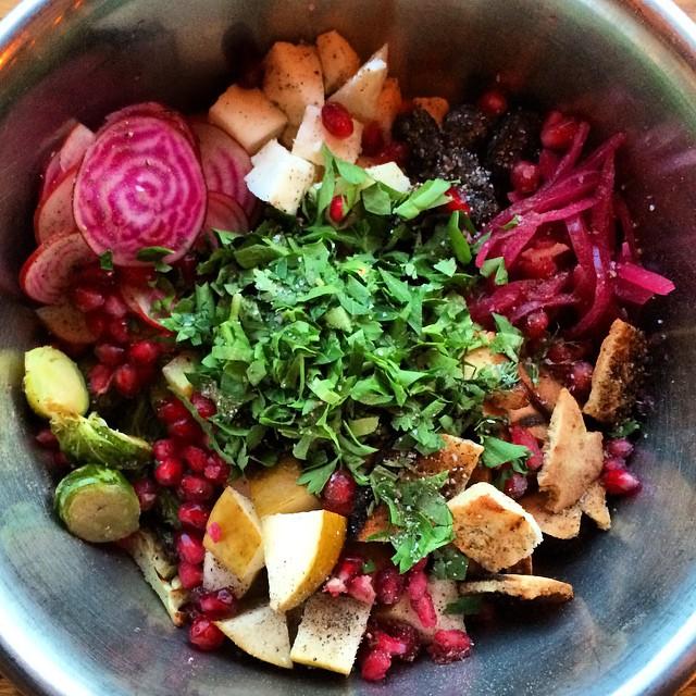 Fat Pasha Fattouch salad