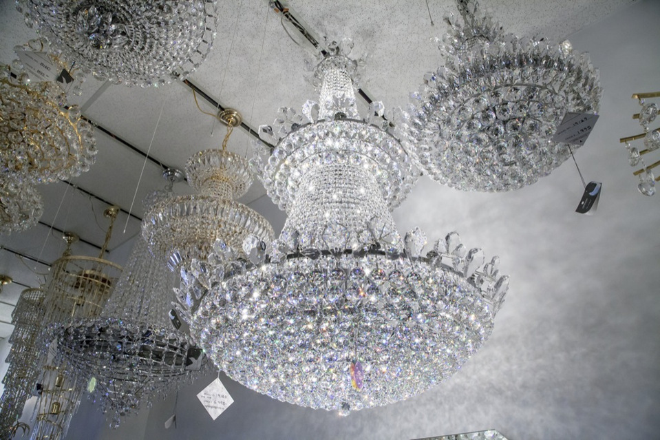 Best lighting stores in toronto jamie sarner lighting originals large crystal chandelier aloadofball Choice Image