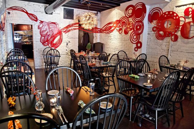 Cafe Bar Pasta Interior