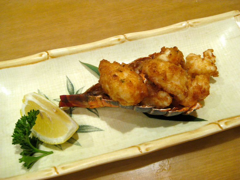 Sushi Aoyama Lobster Fritters by Miyuki Mouse