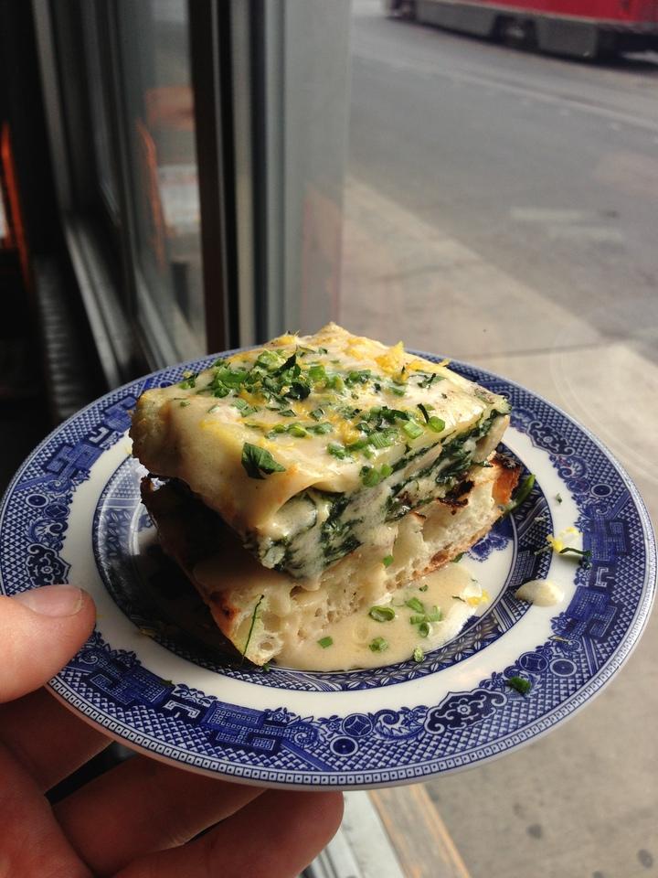 lasagna toast