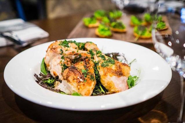 Montecito JW Chicken with salsa verde
