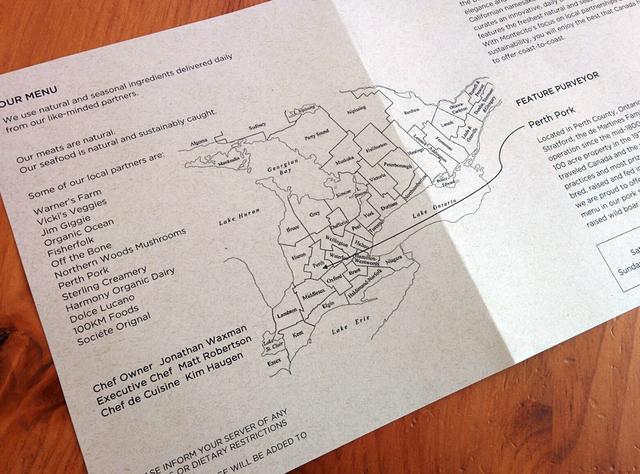 Montecito menu