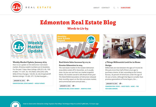 Edmonton Real Estate Blog