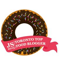 Top Food Blogger Badge 260 290