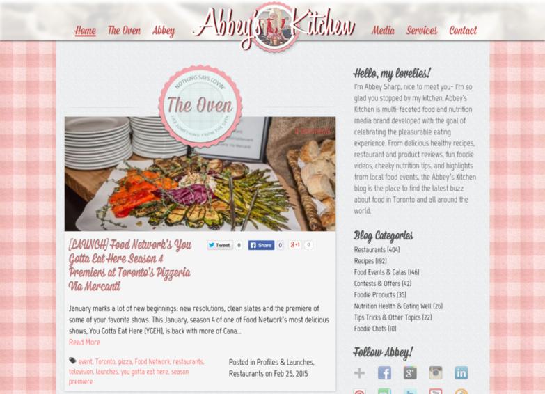 Abbeys kitchen