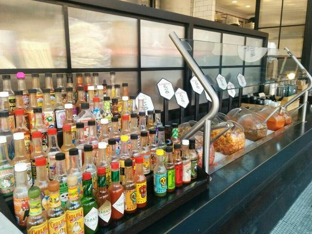 Wilbur Mexicana Hot Sause Station by Forrest K