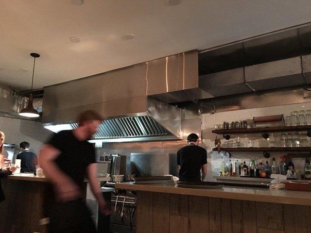 Compechano open kitchen