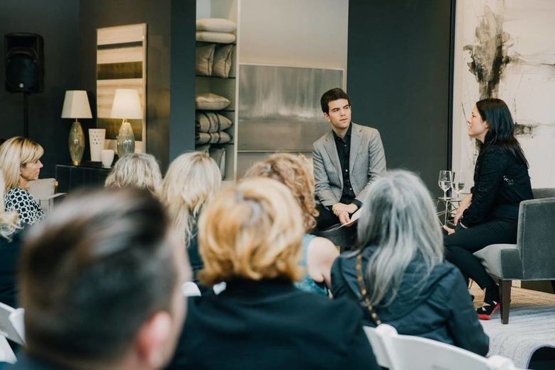 Elte Andrew Metrick hosts discussion with Kara Mann at ELTE Katherine Holland 2015