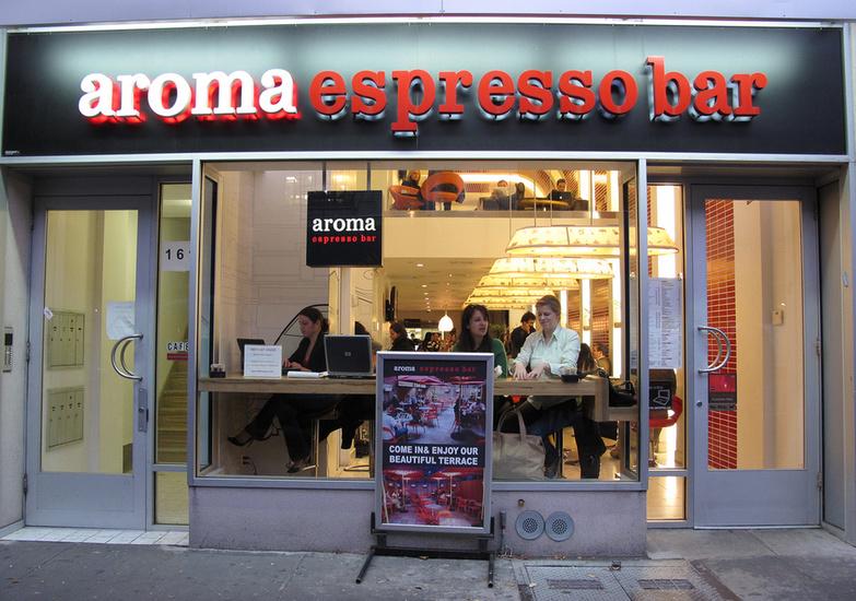 Aroma Espresso Bar by Scott Bale