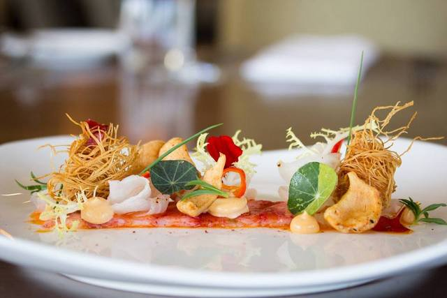 Canoe Lobster Carpaccio