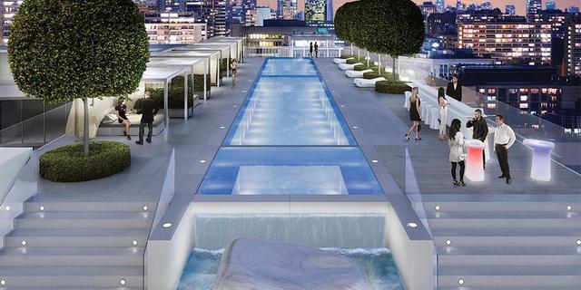 amenities infinity pool