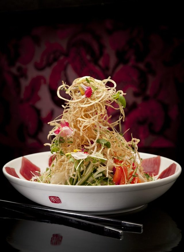 Lee Susur Singature Singapore Style Slaw