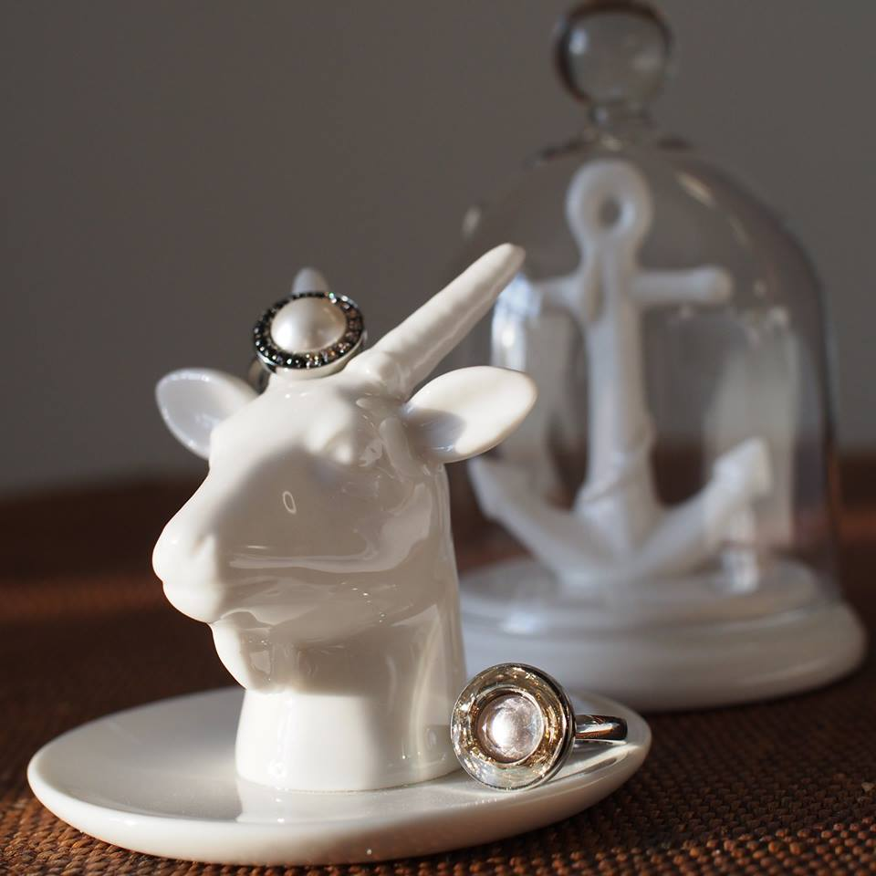 Goat Head Ring Holder by Bergo Design