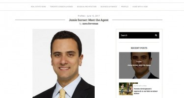 Meet the Agent: Jamie Sarner Talks to Toronto Storeys about Being a Real Estate Agent