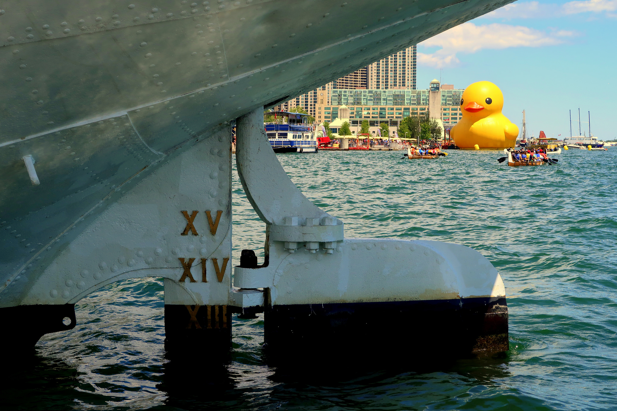 World's Biggest Rubber Duck by wyliepoon