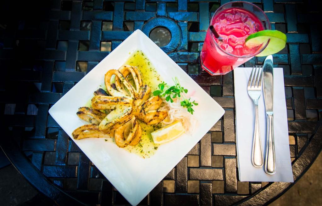 Grilled Cajun Calamari