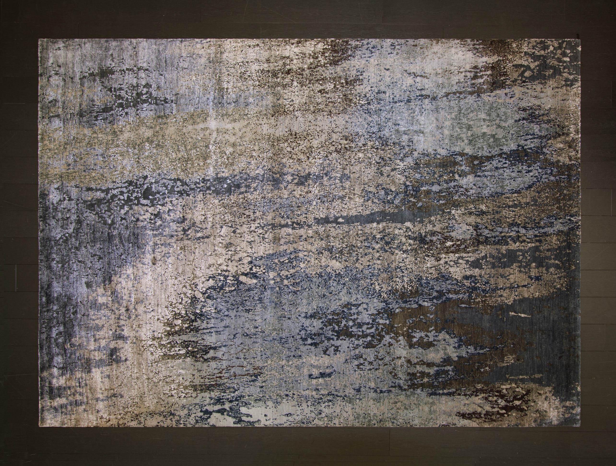 South Pole Glacier rug