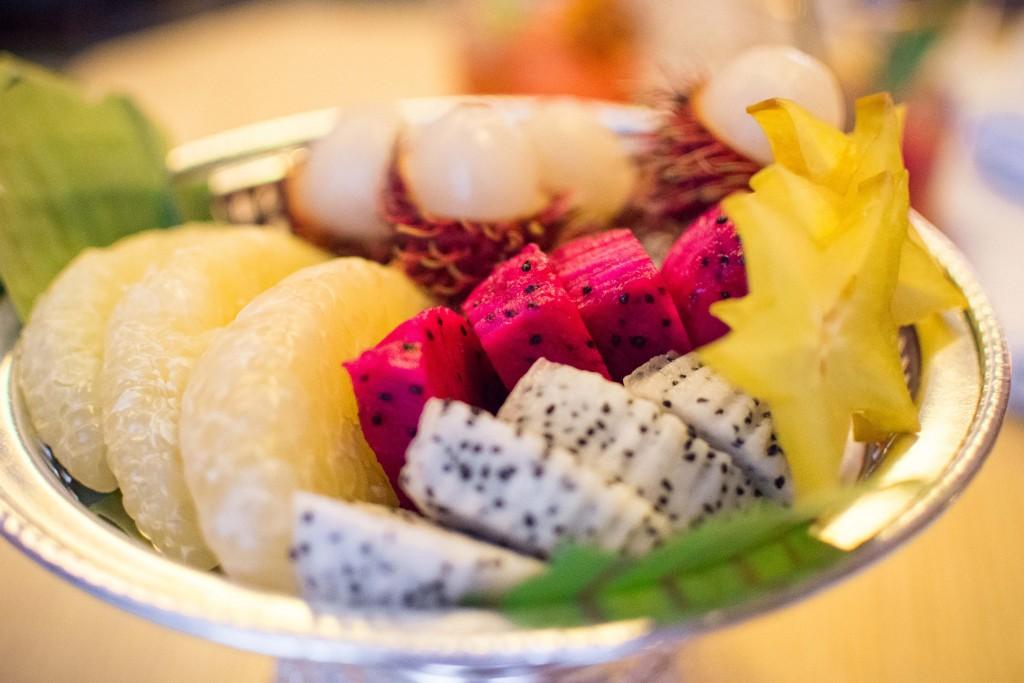 Fruit served at Kiin