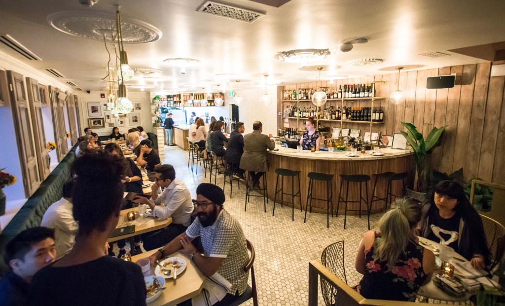 Inside of Kiin - new Toronto Thai restaurant