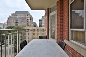1 deer park crescent, suite balcony view 3