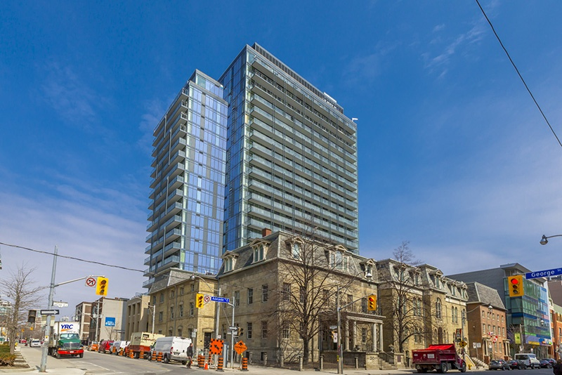 105 George Street Suite 405 Central Toronto Moss Park
